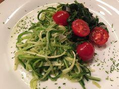 Basische Gemüse Nudeln