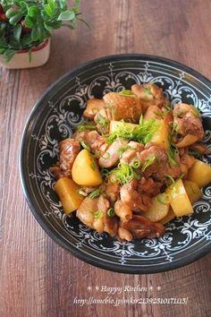 簡単美味しい!鶏肉とほくほくじゃがいものガーリック甘辛 | たっきーママ オフィシャルブログ「たっきーママ@happy kitchen」Powered by Ameba