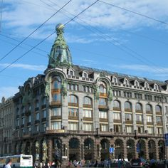 ペテルブルクの街並