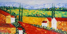 Afbeeldingsresultaat voor landschap schilderijen