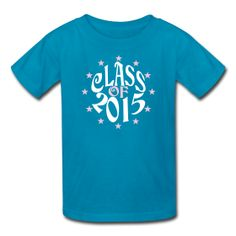 Kids Star Class of 2015 Turquoise T-shirt ~ 79