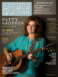 Acoustic Guitar magazine, issue no. 250 (October featuring Patty Griffin on the cover. Springsteen The River, Bruce Springsteen, Acoustic Guitar Magazine, Patty Griffin, Violin Bow, Guitar Parts, Instruments, Bows, October 2013