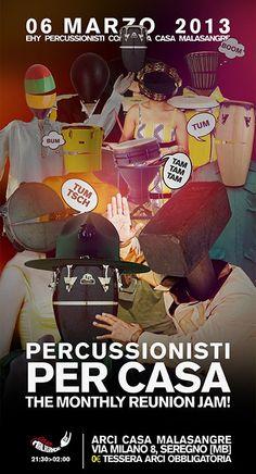 Percussionisti per Casa! last one...