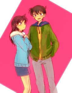 Shinichi and Ran --Detective Conan--