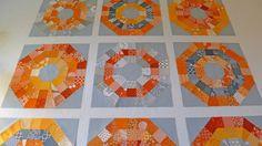 Elizabeth Hartmann's Orb quilt