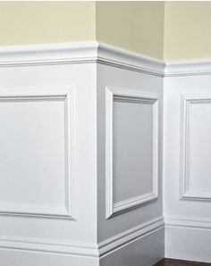 Picture Frames as Wainscotting