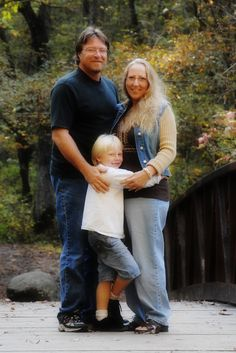 Here's my husband, son and myself on one of our favorite vacation spots, Gatlinburg, TN.