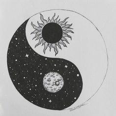 ying-yang, masculin feminin, soleil, terre... More
