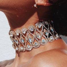 Danfosi Vintage Jewelry Big Crystal Choker Rhinestones Chokers Necklaces For Women Statement 2017 Fashion Chocker Maxi Necklaces