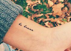 Soit brave... - #brave #soit