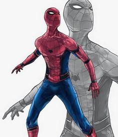 Love it  #Spiderman #suit #CivilWar by diegomtzalm