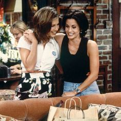 Jennifer & Courteney Rachel & Monica By: sam
