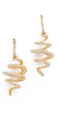 Kenneth Jay Lane #Earrings www.finditforweddings.com