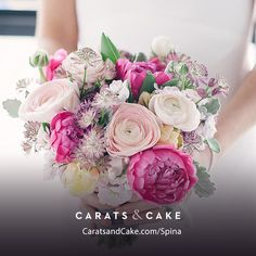 Imagine these on your wedding day! Check us out http://caratsandcake.com/Spina #loveisintheair #spinanyc #176MacDougalSt