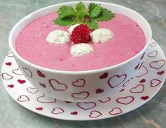 Málnakrémleves, zabpelyhes túrógombóccal🍥 Soup Recipes, Diet Recipes, Recipies, Diabetic Recipes, Healthy Recipes, Hungarian Recipes, Hungarian Food, Nutella, Breakfast Recipes