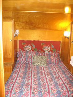 Spartan Trailer bedroom...needs a new bedspread