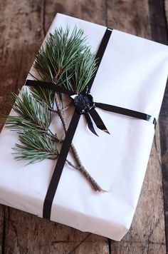 Wax seal — Contemporary Holiday Wrapping