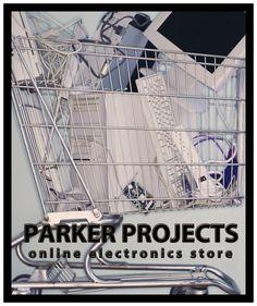 www.parkerprojectselectronics.com.au Online Electronics Store, Inspector Gadget, Australia, Projects, Log Projects
