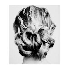 #curly #bun