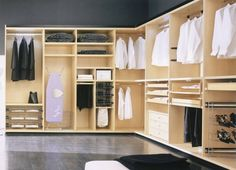 Walk in Wardrobe by Capital (De Capital Bedrooms and Kitchens) Walk In Wardrobe Design, Built In Wardrobe, Room Closet, Walk In Closet, Furniture Showroom, Luxury Furniture, Diy Cupboards, Closet Layout, Fitted Wardrobes