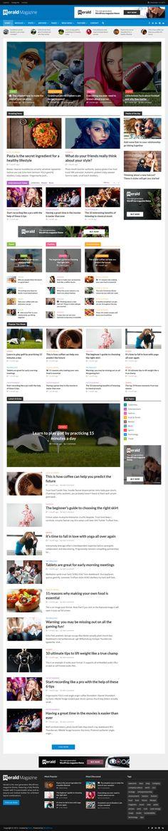 Herald - News Portal & Magazine WordPress Theme #website Live Preview and Download: http://themeforest.net/item/herald-news-portal-magazine-wordpress-theme/13800118?ref=ksioks