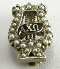 Show them that badges from Alpha Chis back in the day are as timeless as theirs will be