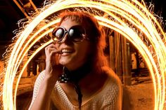 Paint Your Photos with Sparklers!   How to set up your camera to take these awesome pics