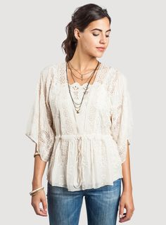 Johnny Was: Adara Blouse@AliciaTravers-wedding top?