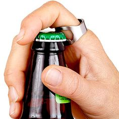 Subtle. Perfect. Beer Bottle Opener Ring | World Market