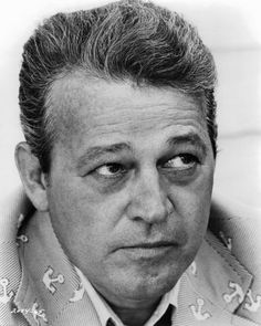 Murray Hamilton (1923-1986). Strong supporting actor mostly as the skeptic. The husband in The Graduate. The mayor in Jaws.(3/24/1923)-9/1/1986)