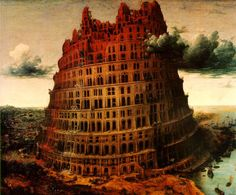 "Pieter Bruegel the Elder - The ""Little"" Tower of Babel - (c. 1563)"