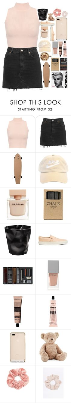 """since when - last 'nudes' entry"" by california-love-and-life ❤ liked on Polyvore featuring WearAll, Topshop, Narciso Rodriguez, Justin Bieber, Jayson Home, Vans, Givenchy, Aesop, Jellycat and Forever 21"