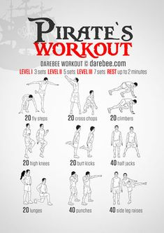 Pirate's Workout