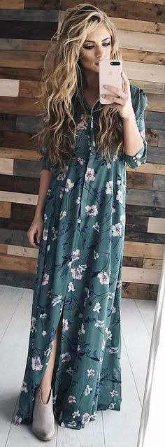 this floral maxi got me thinking about spring