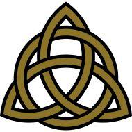 Celtic Trinity Knot Triquetra