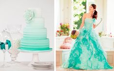 wedding style Ombre