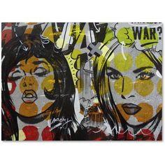Trademark Fine Art Another War Canvas Art by Dan Monteavaro, Size: 18 x 24, Multicolor