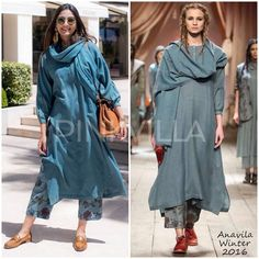 Celebrity Style,sonam kapoor,rhea kapoor,Anavila,Apala by Sumit Indian Fashion Dresses, Indian Outfits, Fashion Outfits, Emo Outfits, Punk Fashion, Salwar Designs, Blouse Designs, Indian Attire, Indian Wear