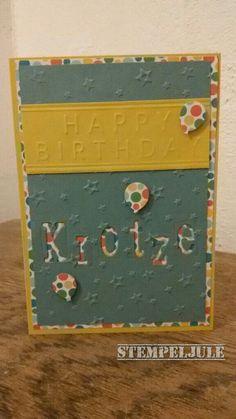 Geburtstagskarte - DP Bunte Party
