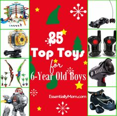 25 Top Toys For 6 Year Old Boys Christmas Gifts