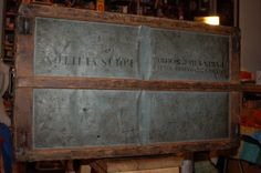 1885 - 1905 Louis Vuitton Trunk in Bergen/Lafayette, Jersey City ~ Apartment Therapy Classifieds