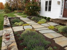 15 Wonderful DIY Stone Pathways For Your Garden - Top Inspirations