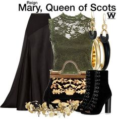 Inspired by Adelaide Kane as Mary, Queen of Scots on Reign.