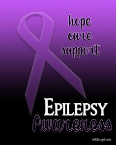 November is Epilepsy Awareness Month. For some touching and informative information as well as several printables, Check this out!
