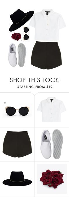 """FÅÑČŸ"" by lululisi ❤ liked on Polyvore featuring Una-Home, Marc by Marc Jacobs, Topshop, Vans and Zimmermann"