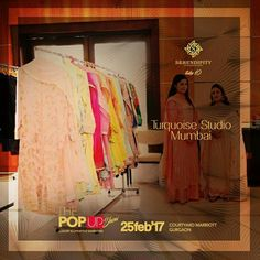 Presenting Turquoise Studio Mumbai next on board. Adorn yourself with their amazing & unique collection only at #Serendipity #Take10 #ThePopUpShow #LifestyleExhibition #25Feb'17 #CourtyardMarriotGurgaon