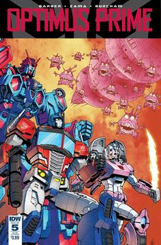 Transformers Optimus Prime Issue #5 Three Page iTunes Preview