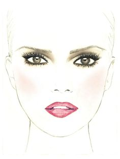 Extraordinaire Ruby Opera Look: Available in the Makeup Genius app Kiss Makeup, Beauty Makeup, Eye Makeup, Hair Makeup, Hair Beauty, Beauty Tips 101, Beauty Hacks, Crazy Makeup, Makeup Looks