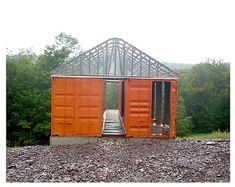 Shipping Container Homes: Tim Steel Structures - Livingston Manor, NY - Container House