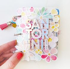 It's Vacation Week on the Pink Paislee blog and here is a mini album I made for the occasion using the new Summer Lights collection! I just...